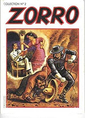 ZORRO. La malédiction de la cité Pueblo. Collection N°2