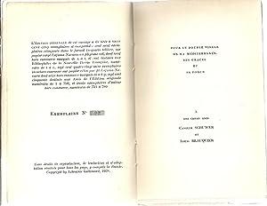 Héliotrope. E-O numérotée. Bel envoi manuscrit de l'auteur à ...