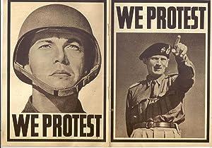WE PROTEST (GERMAN PROPAGANDA OF THE WORLD WAR II): ANONYMOUS