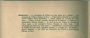 BRETAGNE N° 163 - AOUT 1938. NUMERO SPECIAL VILLIERS DE L'ISLE ADAM: AUBERT (O.-L.) - LE ...