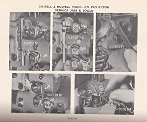 The G.B Bell & Howell 16mm Sound-Film Projector model 621. Instructions for Operation. Care and...