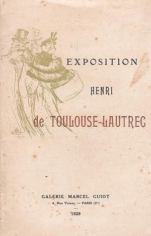 Exposition Henri de Toulouse-Lautrec - Galerie Marcel Guiot.1928: Fritz-René Vanderpyl