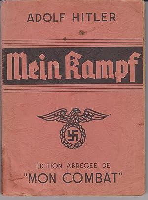 """Mein Kampf. Edition abrégée de """"Mon combat"""": Adolf Hitler -"""