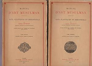 Manuel d'art musulman. Arts plastiques et industriels.: Gaston Migeon