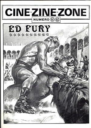 Ed Fury (Edmund Holovchik) - CINE-ZINE-ZONE N° 51-52: CHARLES Pierre - DESSERE Gérard