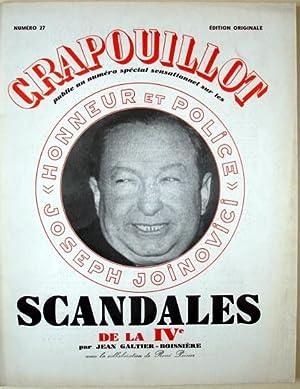 LE CRAPOUILLOT N° 27. 1954. SCANDALES DE: Galtier-Boissière Jean -