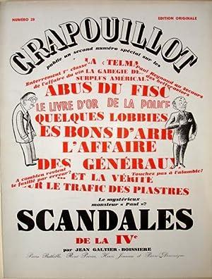 LE CRAPOUILLOT N° 28. 1955. SCANDALES DE: Galtier-Boissière Jean -