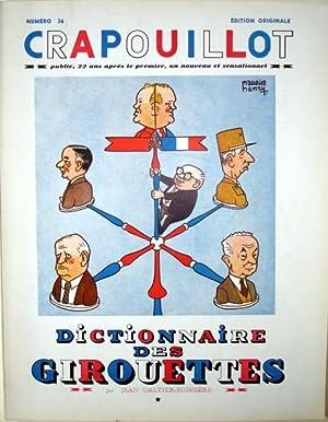 LE CRAPOUILLOT N° 36. 1957. DICTIONNAIRE DES: Galtier-Boissière Jean -