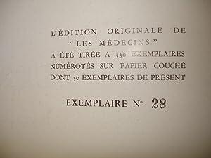 LE CRAPOUILLOT N° 40. Avril 1958. LES MEDECINS : Problèmes et scandales de la mé...