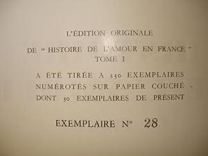 LE CRAPOUILLOT N° 46. Octobre 1959. HISTOIRE DE L'AMOUR EN FRANCE (1). Edition originale. ...