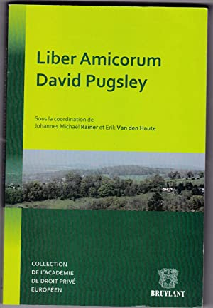 Liber amicorum David Pugsley