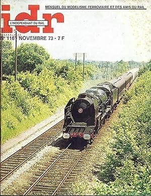 IDR. L'indépendant du Rail. Numéro 116. Novembre