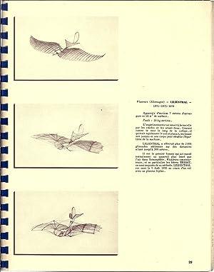 Catalogue des maquettes. Musée de l'Air. Février 1961