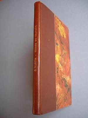TITRES ET TRAVAUX et Autres Documents. Exemplaire de l'auteur.: Martin Germain