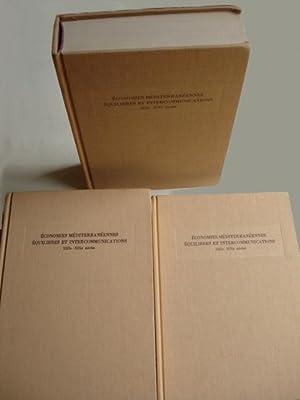 ECONOMIES MEDITERRANEENNES EQUILIBRES ET COMMUNICATIONS. XIIIe - XIXe SIECLES. Actes du IIe ...