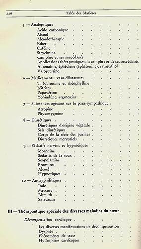 Thérapeutique des maladies du coeur: JAGIC N. Von - FLAUM E.