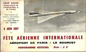 XXVIIe salon international de l'aéronautique et de: Union syndicale des