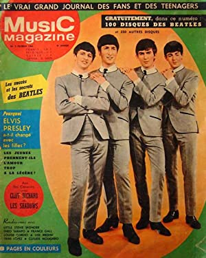 Music magazine N° 2 - Février 1964 : Les Beatles en couverture. COLLECTOR