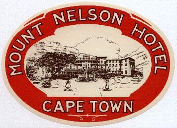 Kofferaufkleber Hotel Afrika Sudafrika Zvab