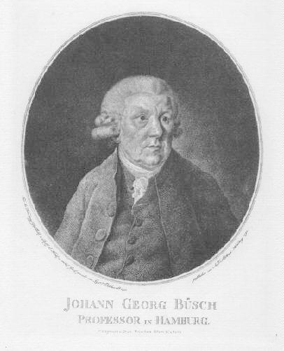03.01.1728 - 05.08.1800) Mathematiker, Pädagoge. Photogravure nach: Büsch, Johann Georg