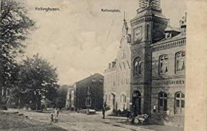 Rathausplatz. Ansichtskarte in Lichtdruck.: Kellinghusen -