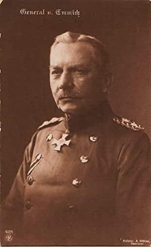 General. Photopostkarte. Ungelaufen