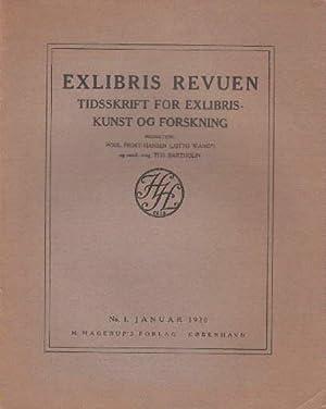 Tidsskrift for Exlibriskunst og Forskning. Redaktion Poul: Exlibris Revuen -