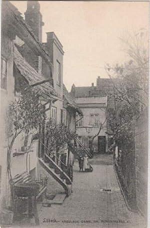 Käselaus Gang - Gr. Burgstrasse 41. Ansichtskarte in Lichtdruck. Ungelaufen.: Lübeck -