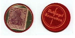 Notgeld der Firma Rotsiegel Krawatten. Metallkapsel mit: Berlin -