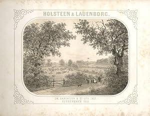 Holsteen & Lauenborg. Mit lithographischem Titel und: Baerentzen, E.D. (Hrsg.)