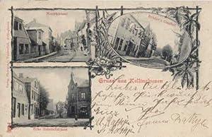 Gruss aus Kellinghusen. Drei Ansichten (Hauptstrasse, Rehder`s: Kellinghusen -