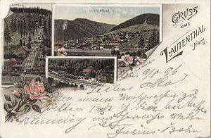 Gruss aus Lauthenthal i. Harz. Ansichtskarte in: Lautenthal i. Harz