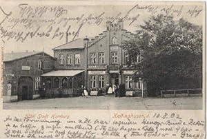 Hotel Stadt Hamburg. Ansichtskarte in Lichtdruck.: Kellinghusen -