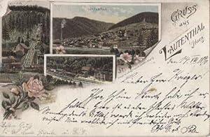 Gruss aus Lautenthal i.Harz. 3 Ansichten (Aufzug,: Lautenthal -