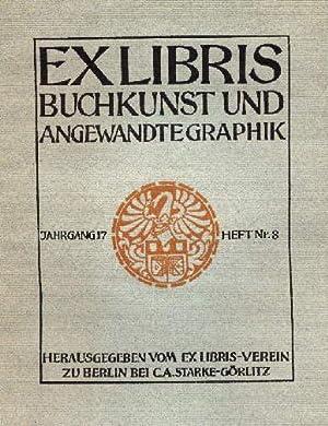 Buchkunst und angewandte Grafik. Jahrgang 17, Heft: Exlibris,