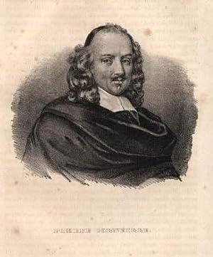 französischer Tragödien- und Komödiendichter. Schwedische Lithographie.: Corneille, Pierre -