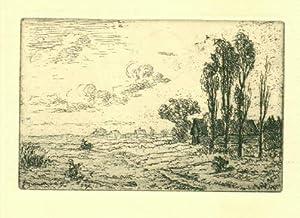 Ved Utterlev Mose, I. Originalradierung von Johan: Rohde, Johan (1856