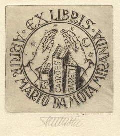 Exlibris für Artur Mario da Mota Miranda.: Bötel, Fritz -