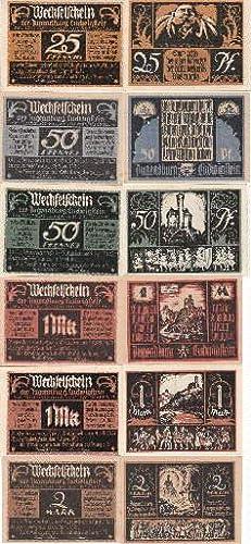 Wechselschein der Jugendburg Ludwigstein. 6 Scheine über: Witzenhausen -