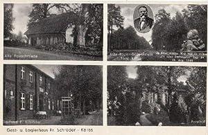 Gast- und Logierhaus Fr. Schröder. 4 Ansichten: Kaliss -