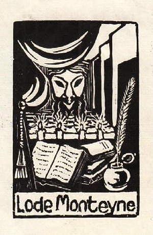 Exlibris für Lode Monteyne.: Unbekannt -