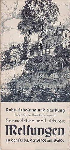 Sommerfrische und Luftkurort Melsungen an der Fulda,: Melsungen -
