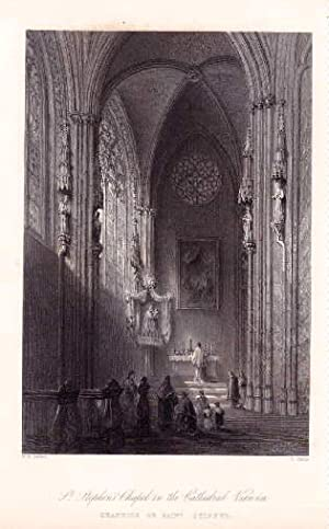 Stephansdom. Innenansicht. St.Stephen`s Chapel in the Cathedral: Wien -