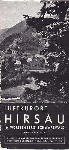 Luftkurort Hirsau im Württemberg. Schwarzwald. Faltprospekt mit: Hirsau -