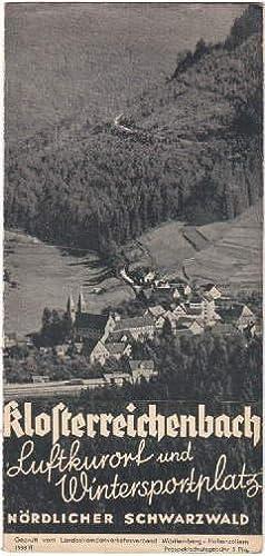 Luftkurort und Wintersportplatz Nördlicher Schwarzwald. Faltprospekt mit: Klosterreichenbach -