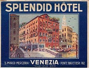 Splendid Hotel, S.Marco Merceria, Ponte Baretteri 760.: Venedig -