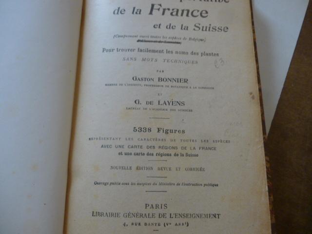 Flore Complete Portative De La France Et De La Suisse Pour border=