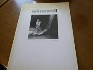 whitewall issue 1 - The unseen world of contemporary art.