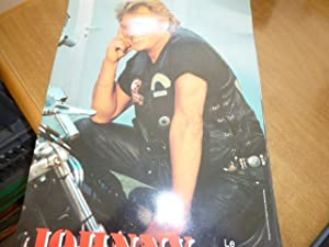 JOHNNY (Halliday) Le calendrier 1995