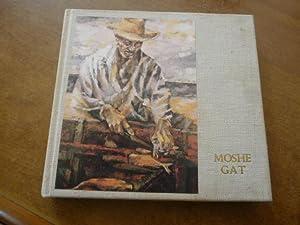 Moshe Gat - Fishermen (With Artist Signed: MOSHE, Gat -